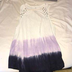 American Eagle soft & sexy ombré tank